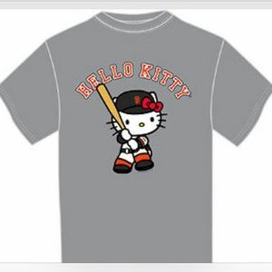 Sanrio Hello Kitty x MLB SF Giants SGA T-Shirt